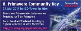 8. Primavera Community Day